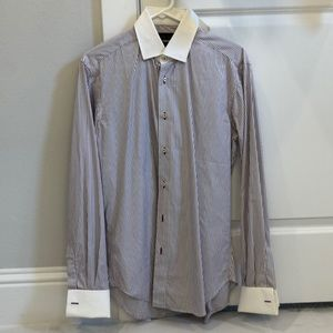 Zara dress shirt. Size USA 14. Fits like a small.